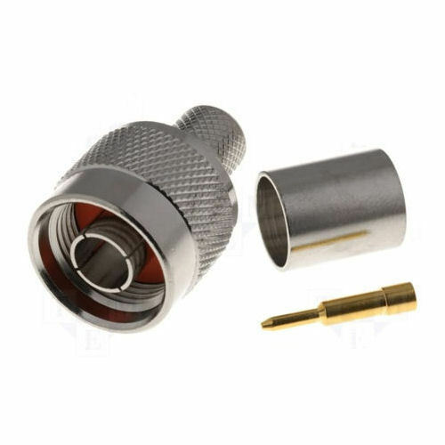 LMR-195 /& LMR-200-10 PACK N Male Connector for RG58