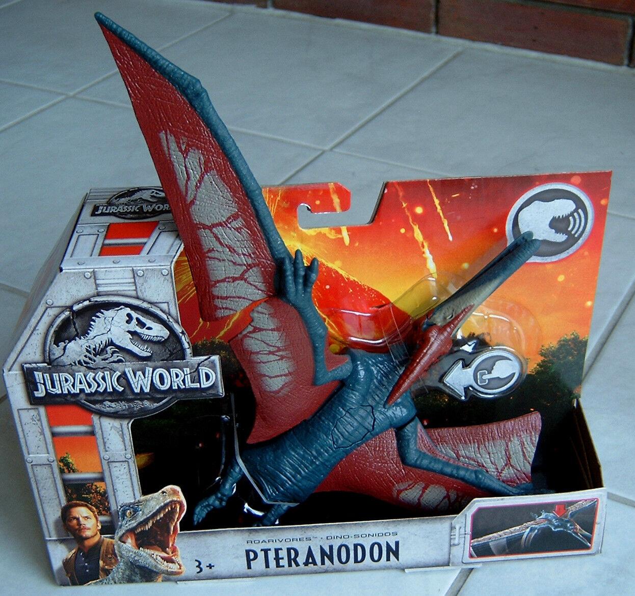 Jurassic World Pteranodon Action Figur mit Sound Mattel FMM27 NEU OVP