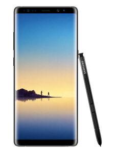 Samsung Galaxy Note8 SM-N950F - 64GB - Midnight Black Smartphone