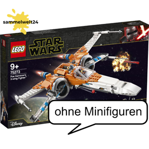 Lego Star Wars 75273 Poe Dameron/'s X-Wing Fighter ohne Minifiguren Brandneu