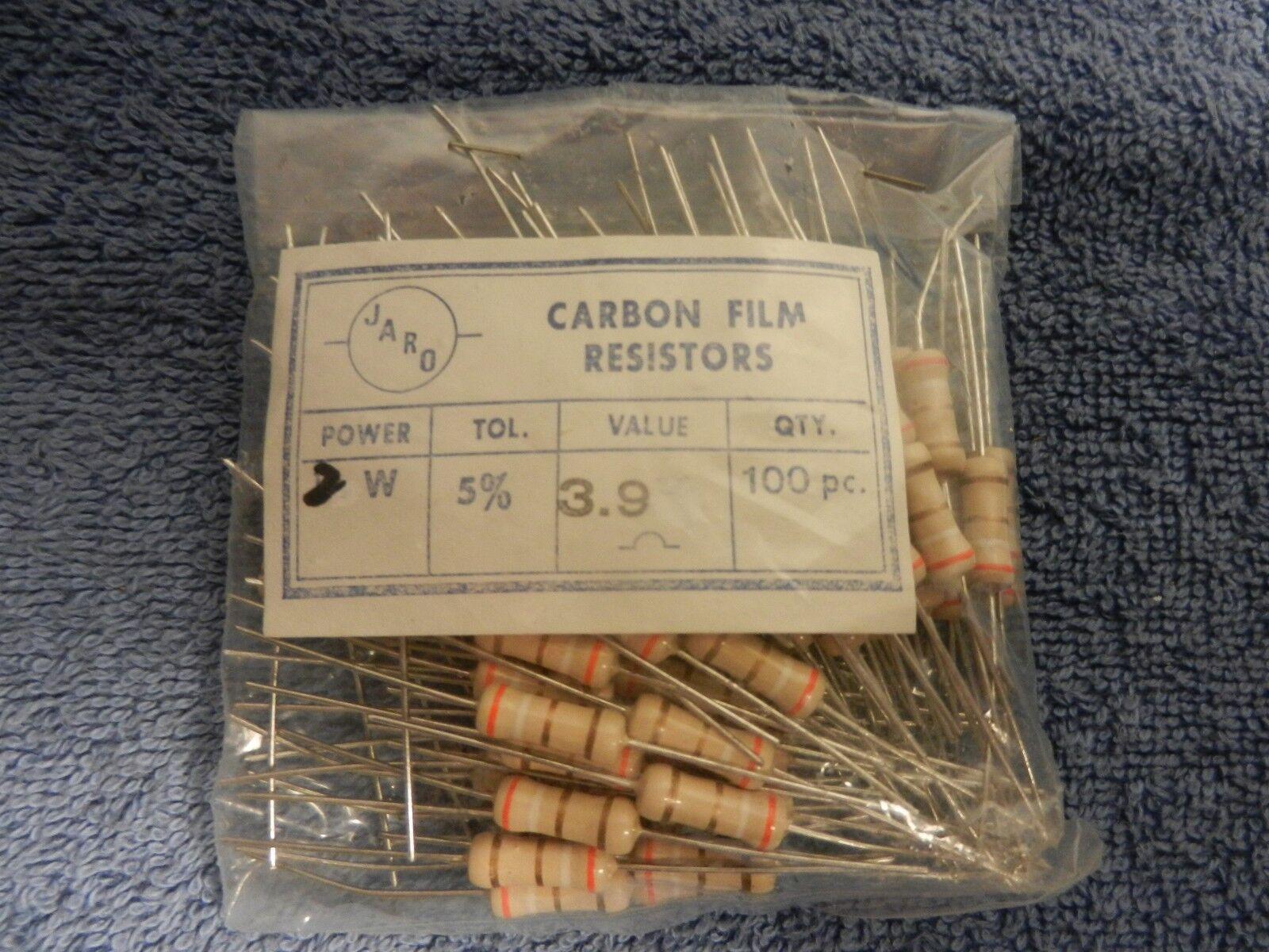150 Ohm 2 W 5/% 150R 2 W Carbon Film Résistances Qualité Eurohm pièces Qté 10