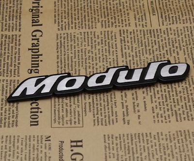 3D Metal Chrome MTM Logo Car Trunk Rear Tailgate Emblem Badge Decal Sticker