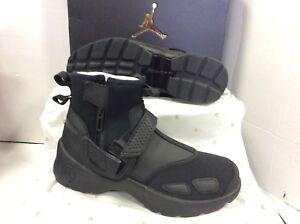 0169477375ef9 Details about Nike JORDAN TRUNNER LX HIGH Black Men's Trainers, Size UK 10  / EU 45