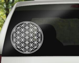 Autoaufkleber-Blume-des-Lebens