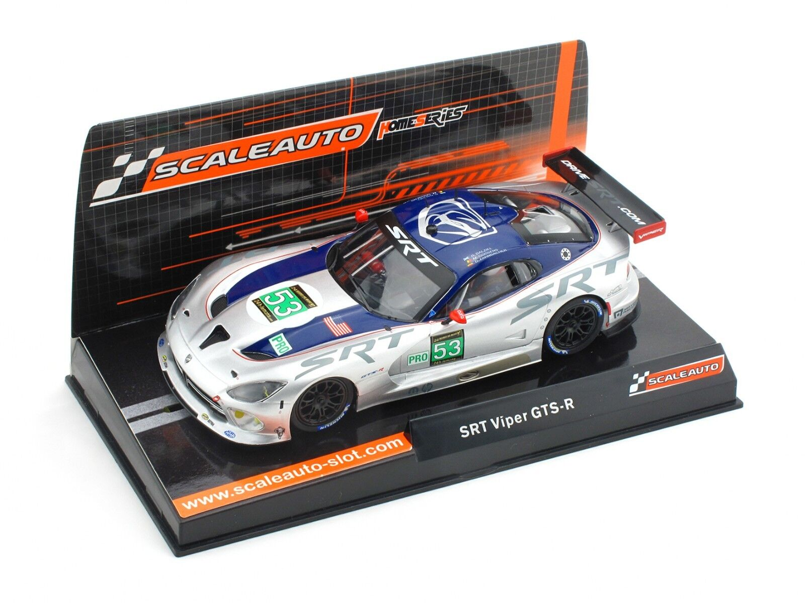 Best price  Scaleauto SRT Viper GTS-R 24h Le Mans 2013 Ref. SC-6037 Slot Car