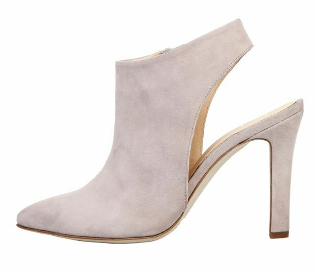 Versace V1969 FLEUR grau Echtleder Pumps Sandalette Damenschuhe Gr 36 39