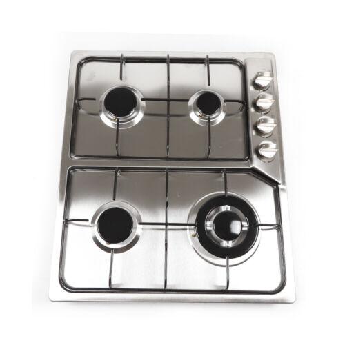 Cuisinière à gaz 58cm 4 gaz fumigènes KOCHFELD Plaque de cuisson pour gaz naturel et gaz propane