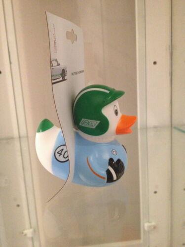rubber duck from porsche green cap museum 911