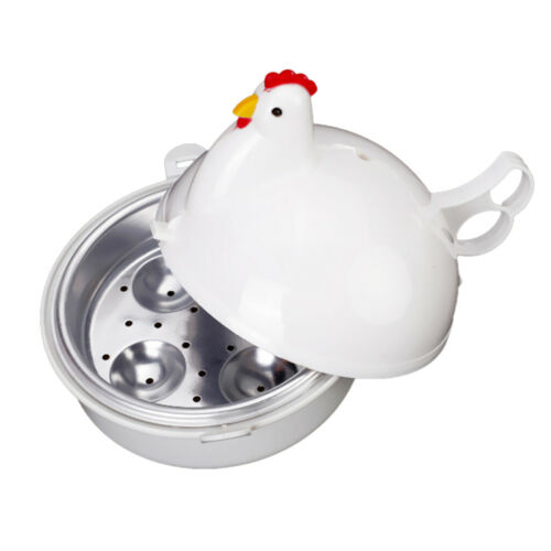 Huhn Mikrowelle Eierkocher Poacher Boiler Steamer Kitchen Tool 4 Eier