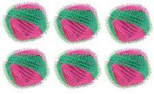 6 Waschbälle Mini-Waschbälle Wasch-Bälle gegen Fusseln Flusen Haare Knötchen Neu