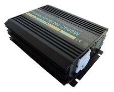 Transformateur / Convertisseur de tension 2000W 12V / 24V - 230V