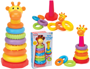 Gerry The Stacking Giraffe  Baby Toddler Toy Xmas Gift 12+m