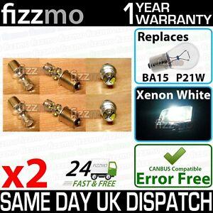 2x FIZZMO BA15s P21w 1156 using Genuine CREE led chips 45w (9x5w) Aluminium body