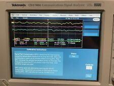 Tektronix Csa7404 Tds7404 4ghz 20gss 4ch Oscilloscope