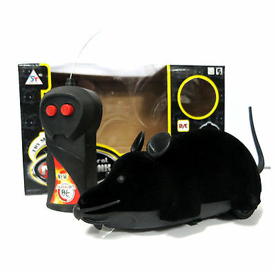 New RC Remote Control Wireless Rat Mouse Mice Toy For Cat Dog Puppy Novelty Gift