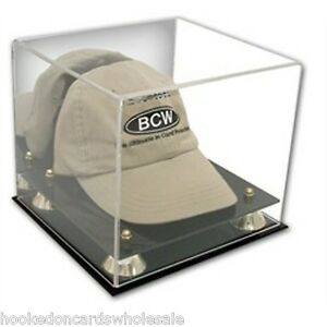 bb5e8f9ffed 1 BCW Deluxe Hat Cap Holder Acrylic Display Case UV Protection