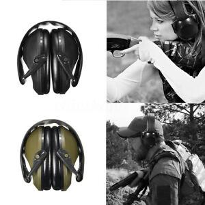 Anti-bruit-Oreille-Casque-Manchon-Cache-oreilles-Pliable-Protection-Tir