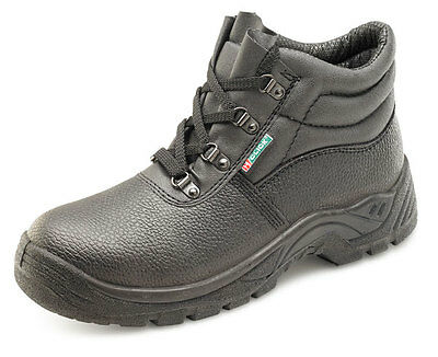 Chukka Work Safety Boot Steel Toe Cap MidSole Boot Shoe  (Sizes 3-13)