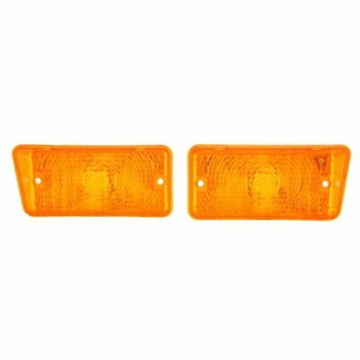 Sold as a Pair 68 Chevelle Amber Park Lamp Lens LH//RH