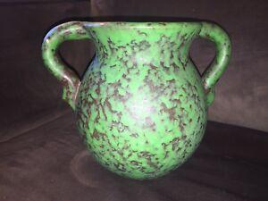 Belle Weller Coppertone double Handled arts & crafts pottery vase-afficher le titre d`origine piirLPiq-09161019-456881720
