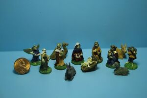 Dollhouse-Miniature-Christmas-Nativity-Scene-12-Pcs-MUL5543