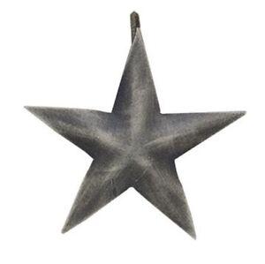 Set 12 brushed silver barn star shower curtain hooks - Star shower ebay ...