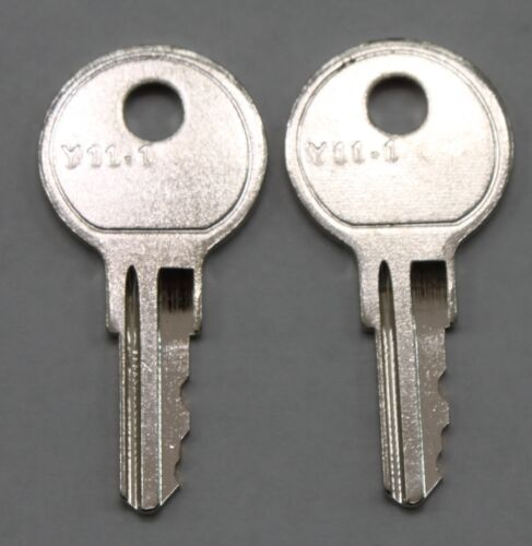 set of 2 replacement keys cut to your HON file cabinet key code 101R 225R