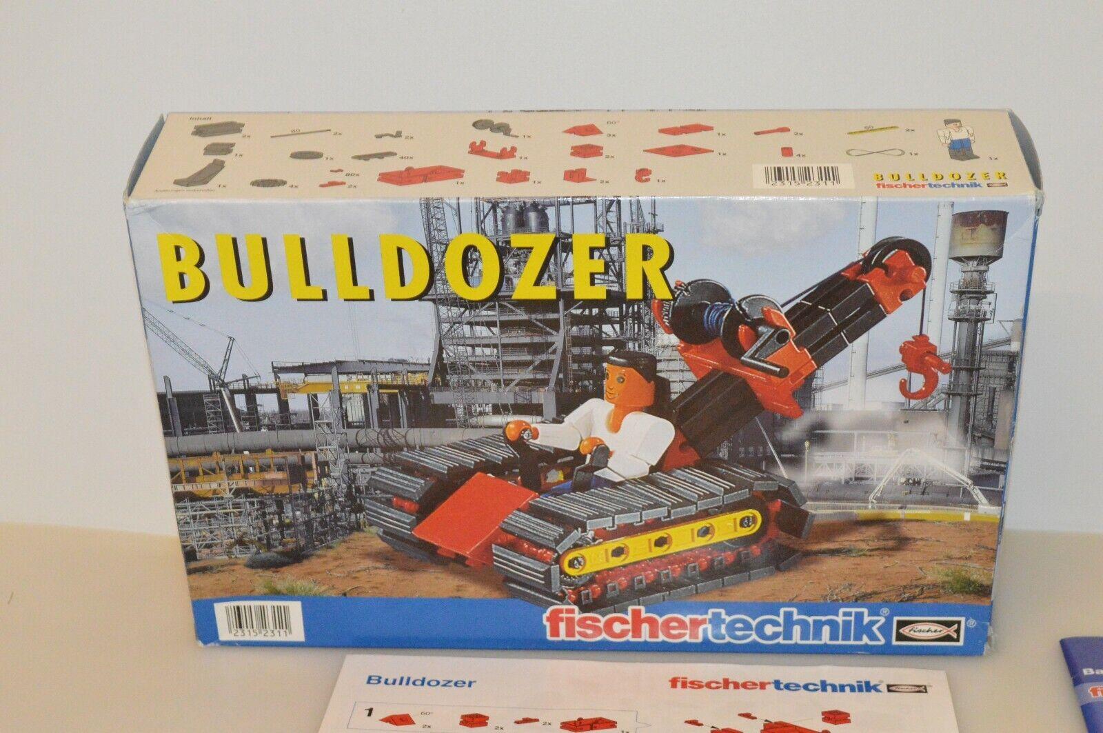 Fischertechnik Bulldozer Bulldozer Bulldozer NOS Unbespielt OVP dd0896