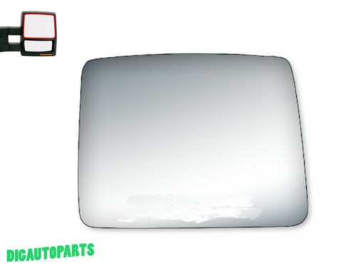 Upper Towing Mirror Glass for 04-14 Ford F-150 Towing Truck Passenger Right Side