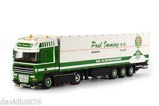 WSI COLLECTIBLES DAF XF105 SSC 4X2 FRIDGE TRAILER PAUL IMMING 01-1293