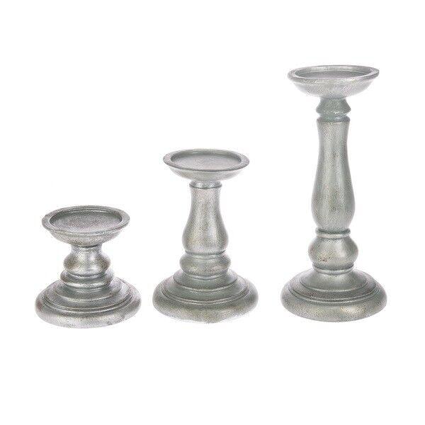 Ganz Polystone Candle Stands, Choose a Size (CN-CNDL-STND)