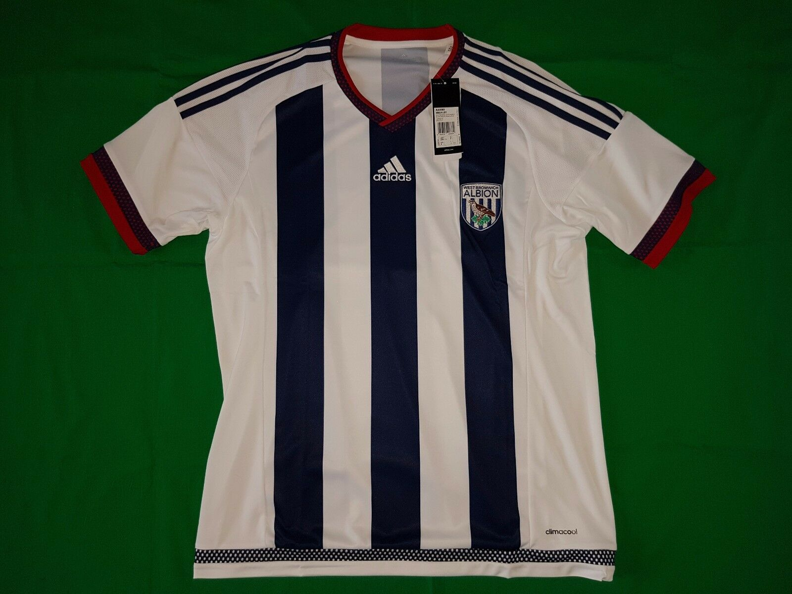 West Bromwich Albion Trikot Home 2015 16 Adidas Größe L -NEU-  | Großer Räumungsverkauf