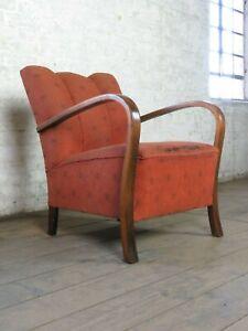 Mid-Century-60er-50er-Jahre-Cocktail-Armlehnen-Sessel-Design-Chair-Vintage