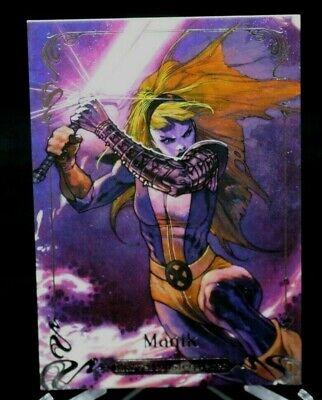 35 Magik 2018 Marvel Masterpieces GOLD FOIL SIGNATURE SERIES Tier 1