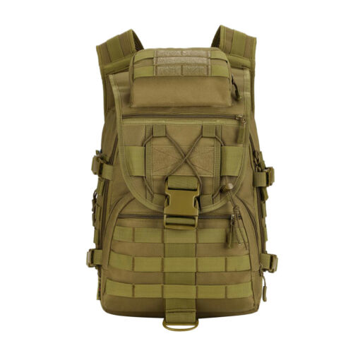 40L Molle Tactical Military Outdoor Backpack Bag Hunting Camping Hiking Day Pack