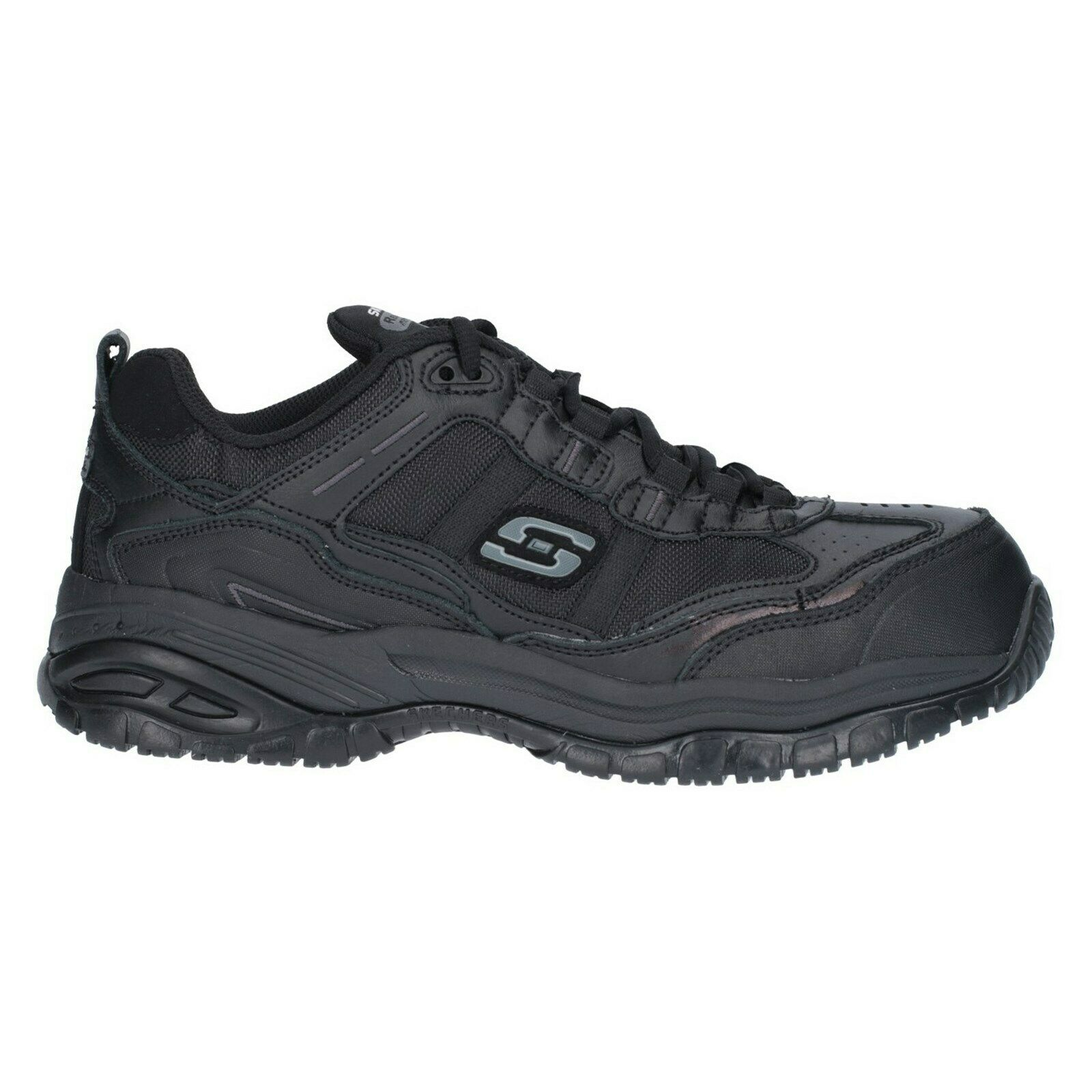 Skechers Soft Stride Safety schuhe Composite Toe Memory Foam Mens Work Trainers