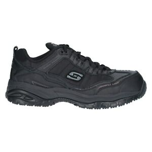 skechers memory foam mens work shoes