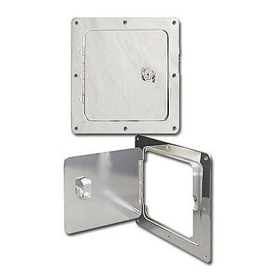 Ultra-Fab 48-979010 Universal Access Door Chrome