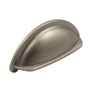 20 X Tasse Poignée Cuisine Armoire Ariel Porte Coffre Tiroirs Pull Poignées Chrome