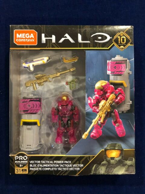 Mega Construx Pro Builder HALO Vector Tactical Power Pack Building NEW SEALED