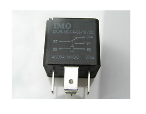 12V,DC Tyco SRJH-1C-C1-SL,Black 5 pin relay