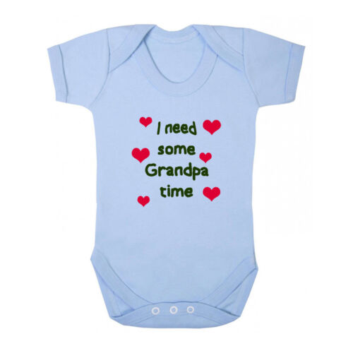 I Need Some Grandpa Time Baby Bodysuit One Piece