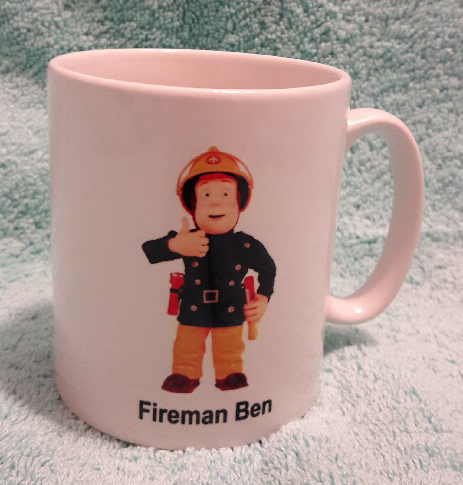 Fireman Sam personalised door plaque gift free uk postage any name Christmas