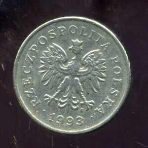 POLOGNE  1 zloty  1993