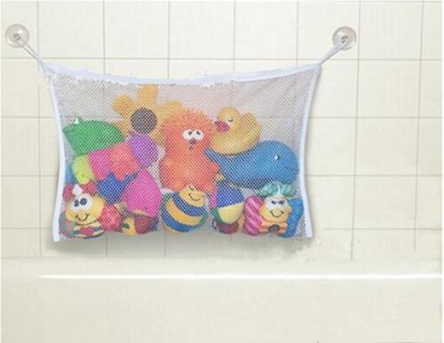 Large B Baby Kids Fun Bath Tub Toys Bag Hanging Organizer Storage Bag Small