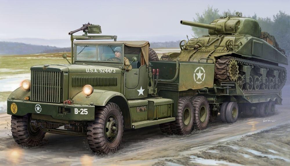 63502 escala 1 35 US M19 tanque blindado vehículo transportador Tractor Modelo Trumpeter