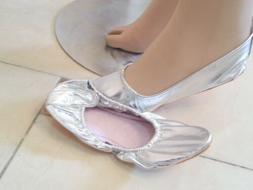 2 Pairs OF Belly Dance SHOES  LEATHER Shos /& Sole  BALLERINA GZ316