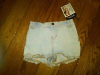NWT $26 TODDLER GIRLS BLUE DENIM JEAN SHORTS SIZE 24 MONTHS AMERICAN LIVING
