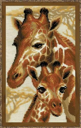 Giraffe Riolis Cross Stitch Kit Giraffes