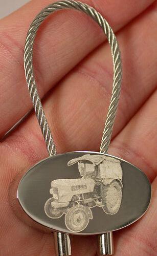 Fendt Farmer 2 Schlüsselanhänger Trecker Fotogravur Keyring Traktor Gravur Cable